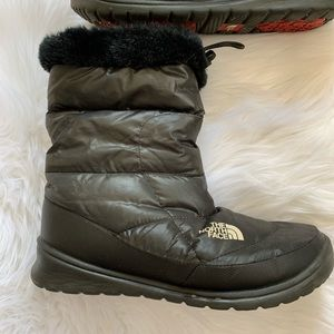 The North Face 8 Nuptse Goose Down Boots